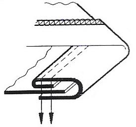 Aparelho de debrum  com uma vira para máquina base aberta