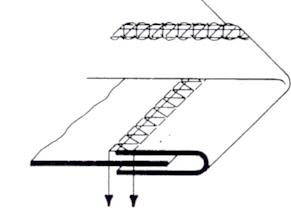 Aparelho de debrum sem dobra para base plana