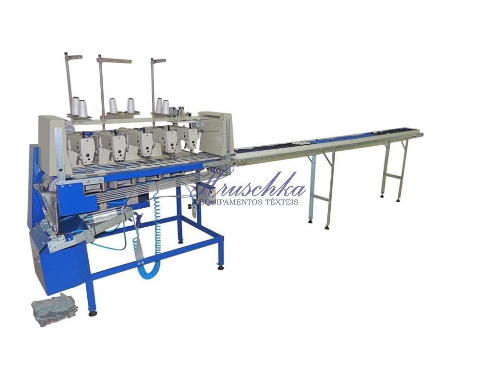 Máquina para costurar estopas